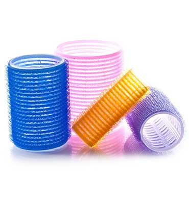 Self Grip Velcro Hair Rollers