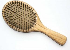 Natural Large Nylon Bristle Cushion Brush B9