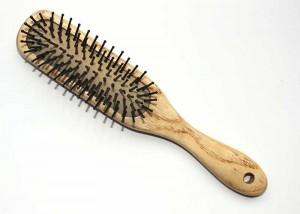 Rectangular Small Nylon Bristle Cushion Hairbrush D11