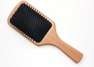 Wooden Paddle Brush for Hair salon B15