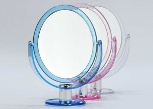 2x Magnifying Oval Swivel Beauty Mirror M13