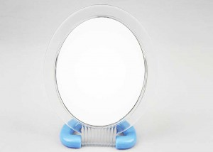 Oval Double Side Table Makeup Mirror 10