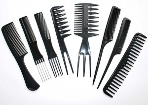 Professional 8 Piece Styling Comb Set C2