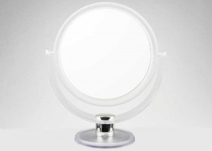 Round Swivel Beauty Mirror With 2x Magnifying M12