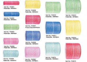 Self Grip Velcro Hair Rollers PA0001