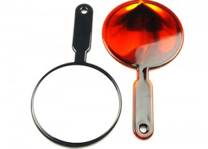 Single Side Hand Mirror with Plastic Frame MH1