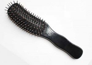 Black Styling Cushion HairBrush B35