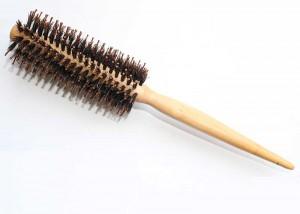 Boar Bristle Hairbrush Pin Tail Handle B42