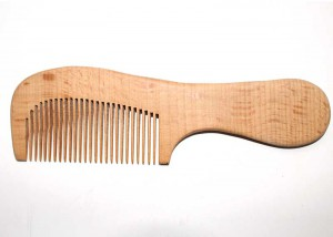 Hair Comb Handmade Natural Wooden C7