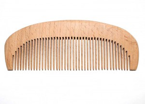 Handmade Natural Wooden Hair Comb C4