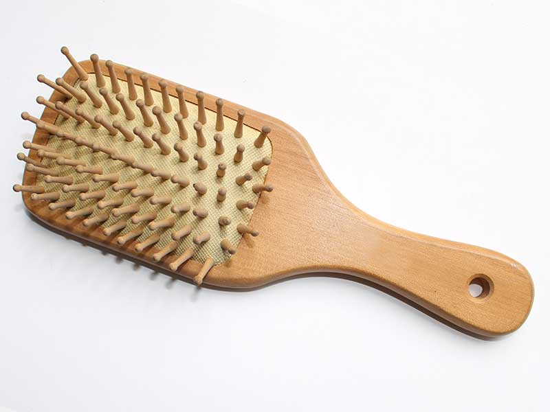 Natural Wooden Massage Hair Brush B39