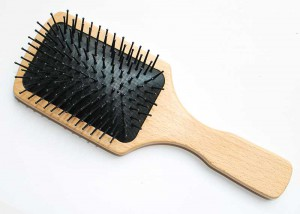 Nylon Bristle Paddle Hair Brush B32