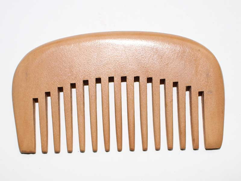 Portable Natural Wooden Hair Care Comb C5