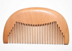 Portable Natural Wooden Pocket Comb C6