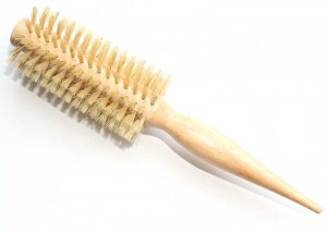 Wooden Round Curling Hair Brush B40