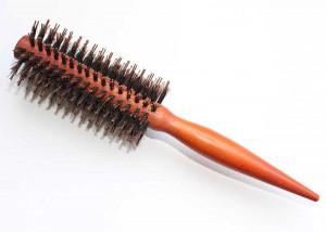 Brown Pin Tail Handle Bristle Brush B47